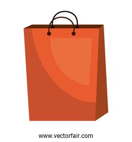 Shopping items isolated flat icon.