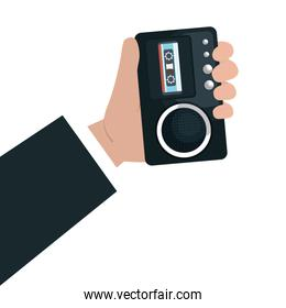 Journalism and news graphic design, vector illustration.