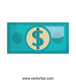 Money and business graphic design.