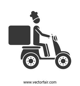 food home service icon vector illustration