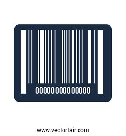 bars code data icon vector illustration