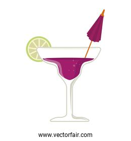 cocktail glass cup icon vector illustration