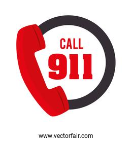 call 911 fire equipement service emergency