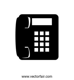 phone telephone call line supplies icon vector graphic