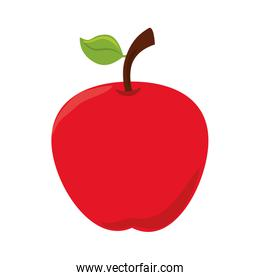 apple fruit food icon vector graphic