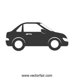 car side auto vehicle icon vector graphic