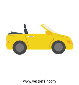 car side sport auto vehicle icon vector graphic
