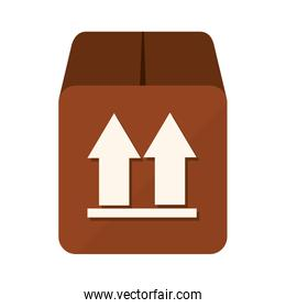 box package top icon vector graphic
