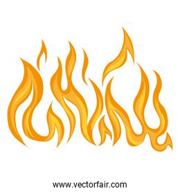 flame fire burnglaming  icon vector graphic