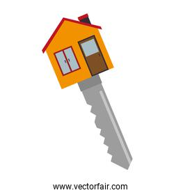 key house fund icon vector