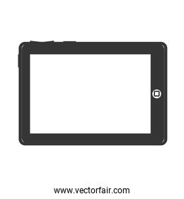tablet device screen technology electronic icon vector
