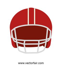 helmet american football icon vector