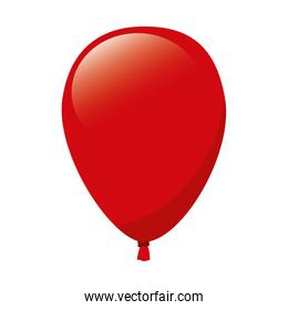 balloon red decoration