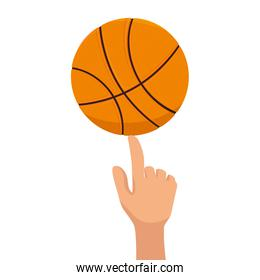 basketball ball sport finger