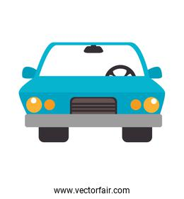 car auto front icon vector
