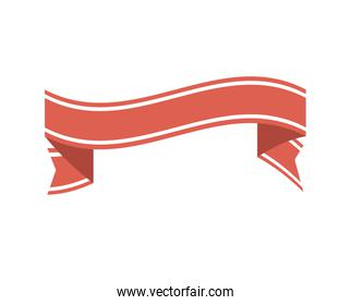 ribbon banner decoration