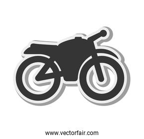 motorcycle vehicle silhouette