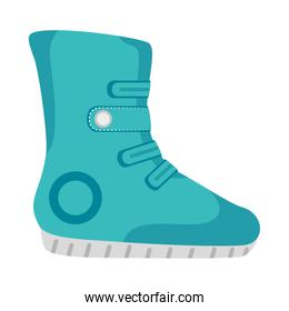 blue Winter boots sport and fashion wear