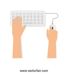 keyboard mouse computer devices