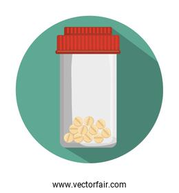 medical bottle pills container