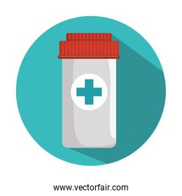 medicine bottle container