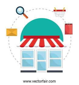 shopping and ecommerce icon