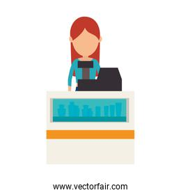 avatar woman cashier