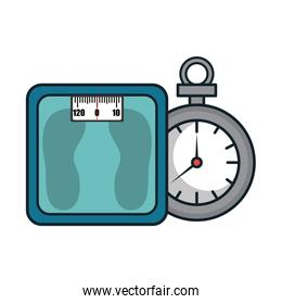 metal scale weight