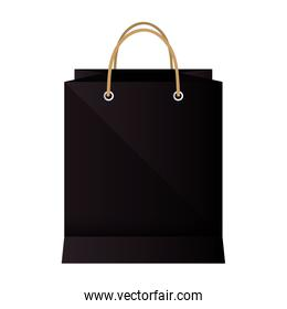 shopping bag paper icon