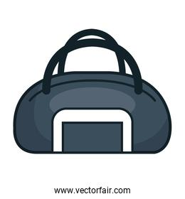 handle bag gym isolated icon