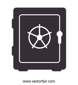 safe security box isolated icon