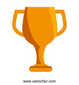 trophy cup award isolated icon