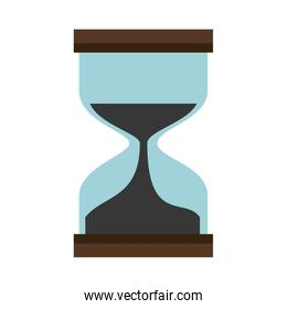 hourglass time isolated icon