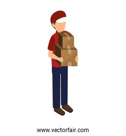 courier delivery avatar icon