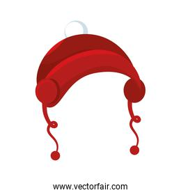 happy merry christmas hat card