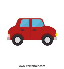 car toy kid isolated icon