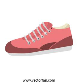 tennis shoes sport isolated icon