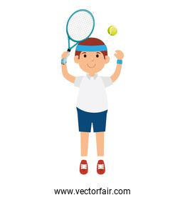 tennis player character icon