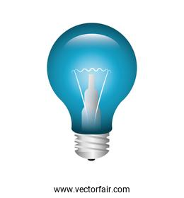 bulb light education icon