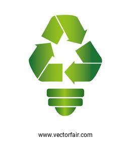 recycle symbol with arrows