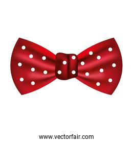bow tie male fashion isolated icon