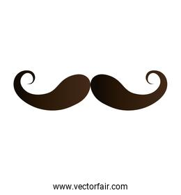 mustache hipster style icon