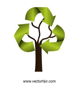 recycle arrows ecology icon