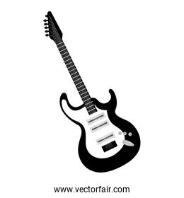 isolated electric guitar instrument musical