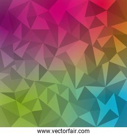 abstract beautiful background icon
