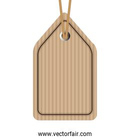commercial carton board tag