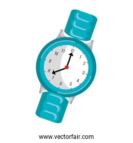 wristlet watch isolated icon
