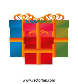 gift present isolated icon