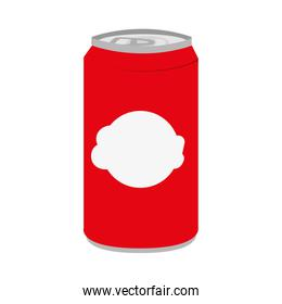 soda can isolated icon