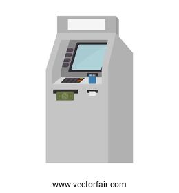 atm service isolated icon